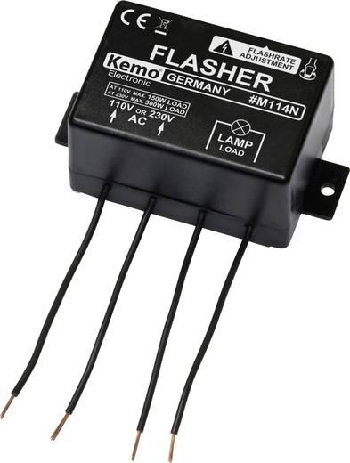 Blinklicht Bausatz Kemo M114N Ausführung (Bausatz/Baustein): Baustein 110 V/AC, 230 V/AC