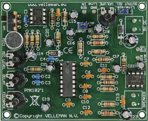 Digitaler Echo-Generator Bausatz Velleman MK182 9 V/DC, 12 V/DC