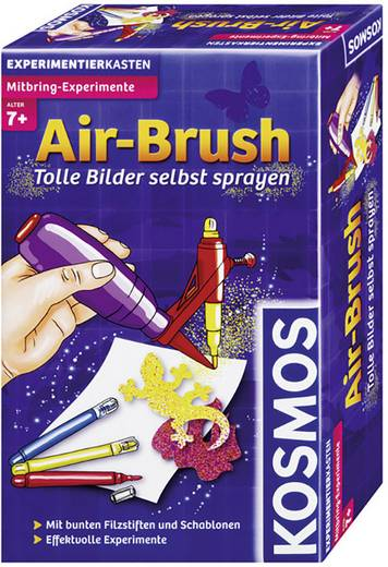 Experimentierkasten Kosmos Mitbring-Experimente Air-Brush 657017 ab 7 Jahre