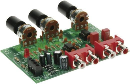 Lautstärke- und Klangregelung Bausatz Velleman K8084 12 V/AC