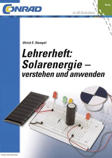 Lehrerheft Solarenergie - verstehen und anwenden Conrad Components 978-3-6451-0053-3
