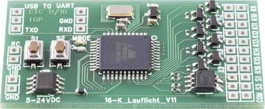16-Kanal Lauflicht Bausatz Conrad Components 190486 Ausführung (Bausatz/Baustein): Baustein 6 V/DC, 12 V/DC