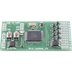Stavebnice pohyblivého svetla Conrad Components 190486, 6 V/DC, 12 V/DC, 16 kanálov, hotový modul