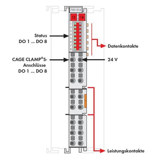 SPS-Ausgangskarte WAGO 750-1516 24 V/DC
