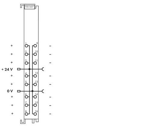 SPS-Klemme WAGO 750-1607 24 V/DC