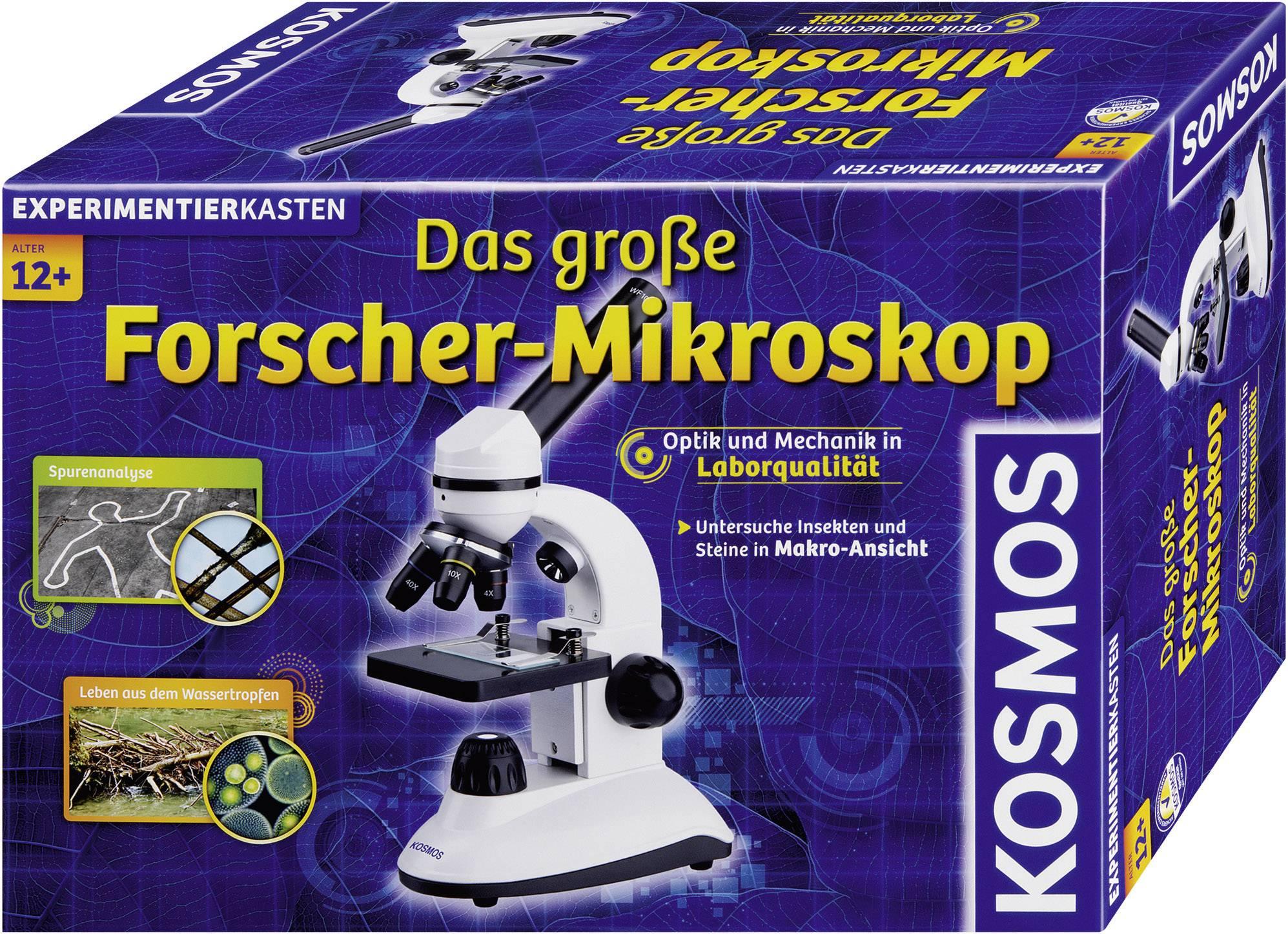 KOSMOS Experimentierkästen Mikroskop für Natur-Entdecker ab 8 Jahren 635213 Spiele