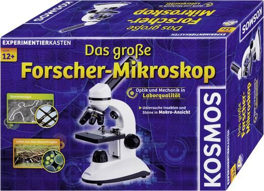 Experimentierkasten Kosmos Das große Forscher-Mikroskop 636029 ab 12 Jahre