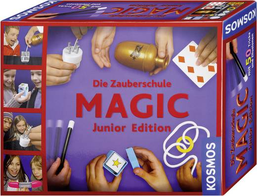 Experimentierkasten Kosmos Die Zauberschule - Magic Junior Edition 698201 ab 8 Jahre