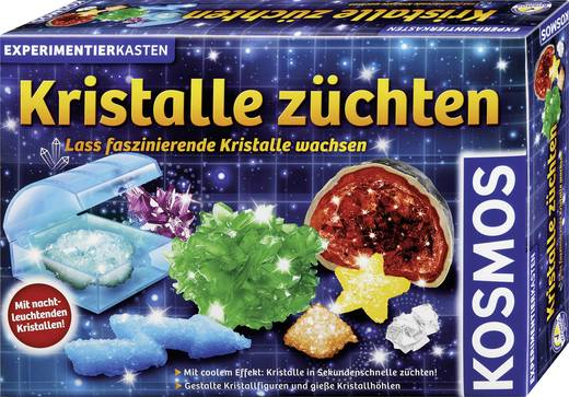 Experimentierkasten Kosmos Kristalle züchten 643522 ab 12 Jahre