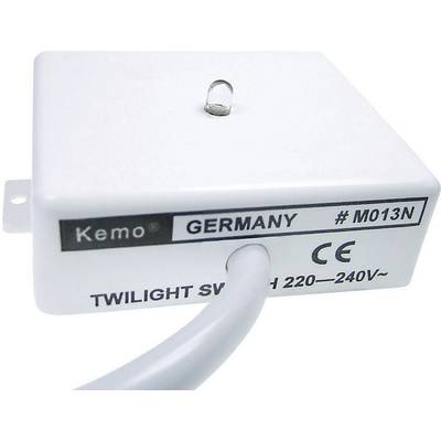 Dämmerungsschalter Baustein Kemo M013N 230 V/AC Preisvergleich