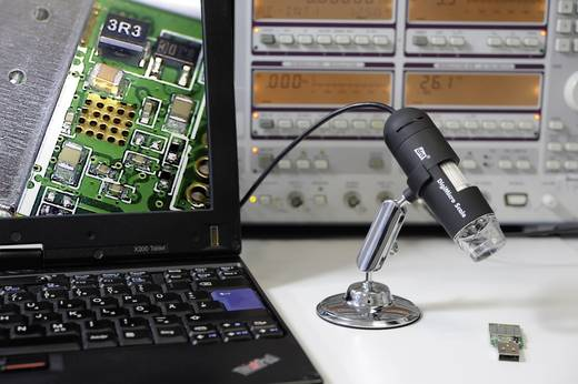 USB Mikroskop dnt 2 Mio. Pixel Digitale Vergrößerung (max.): 200 x