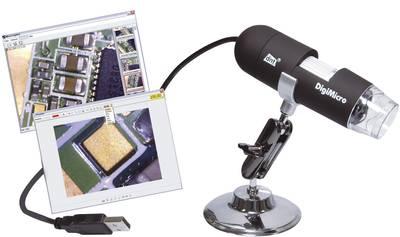 USB-s mikroszkóp kamera 20 vagy 200-szoros nagyítás DNT DIGIMICRO 2.0 SCALE