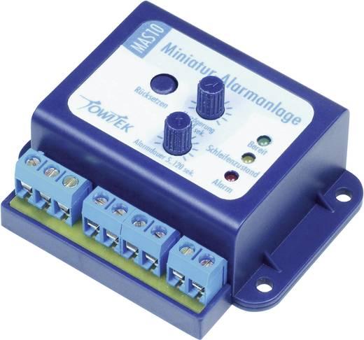 Mini Alarmmodul Baustein TowiTek 12 V/DC, 9 V/AC, 12 V/AC