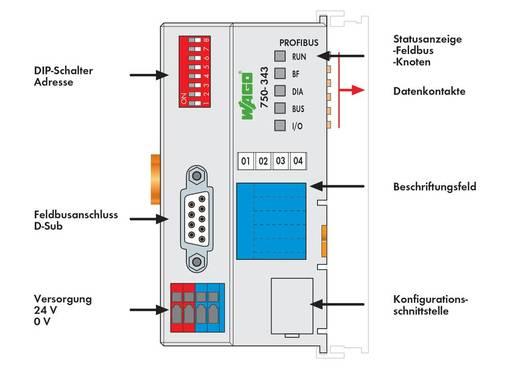 SPS-Busanschluss WAGO 750-343 24 V/DC