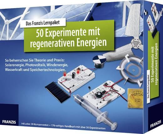 Lernpaket Franzis Verlag 50 Experimente mit regenerativen Energien 978-3-645-65342-8 ab 14 Jahre