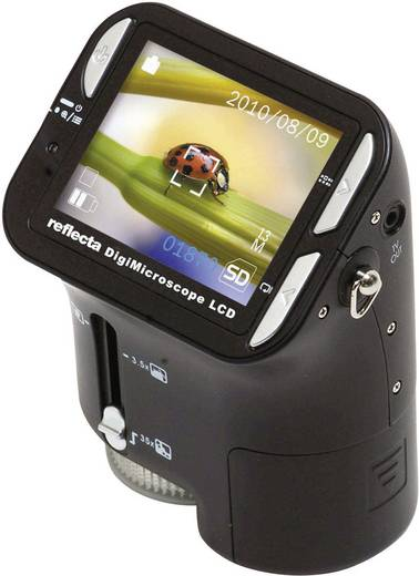 USB Mikroskop mit Monitor Reflecta 1.3 Mio. Pixel Digitale Vergrößerung (max.): 35 x