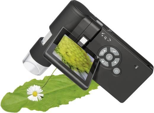 dnt USB Mikroskop mit Monitor 5 Mio. Pixel Digitale Vergrößerung (max.): 500 x