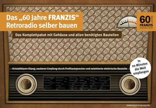 Franzis Mittelwellen-Retroradio zum Selberbauen 4229