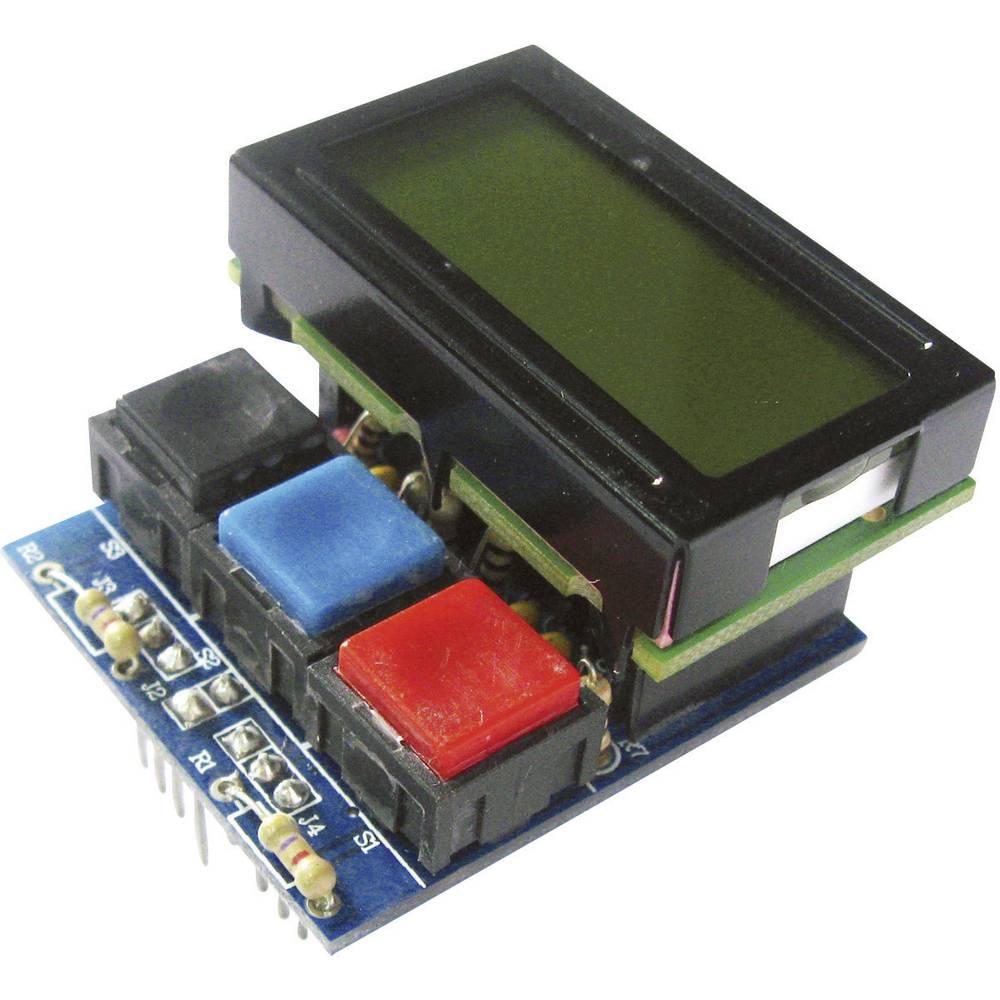 arexx lcd display modul robot system passend f r typ roboter bausatz asuro im conrad online. Black Bedroom Furniture Sets. Home Design Ideas