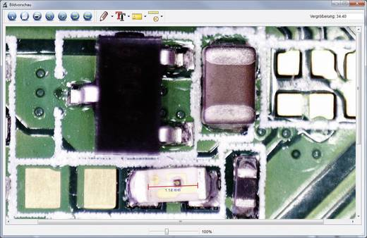 Usb mikroskop dnt 5 mio. pixel digitale vergrößerung max. : 150 x