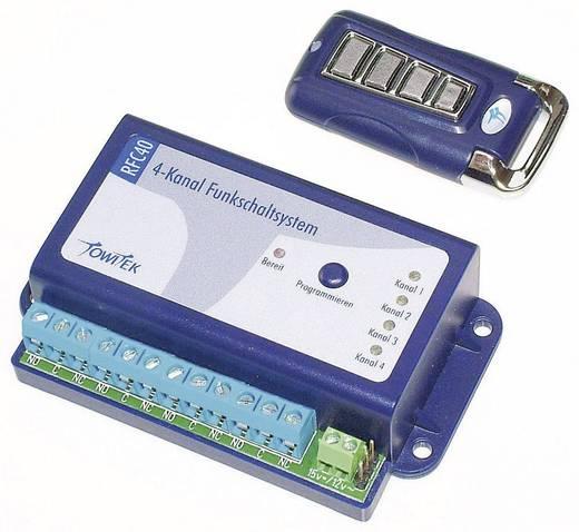 4-Kanal Funkschaltsystem TowiTek TWT2028 inkl. Handsender Reichweite max. (im Freifeld): 50 m 12 V/DC