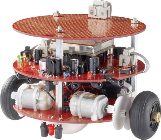 C-Control Roboter Bausatz PRO-BOT128K Ausführung (Bausatz/Baustein): Bausatz