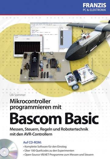 Mikrocontroller programmieren mit Bascom Basic Franzis Verlag 978-3-645-65041-0