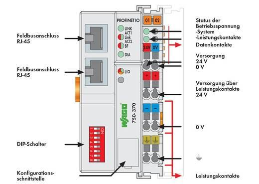 SPS-Busanschluss WAGO 750-370 24 V/DC