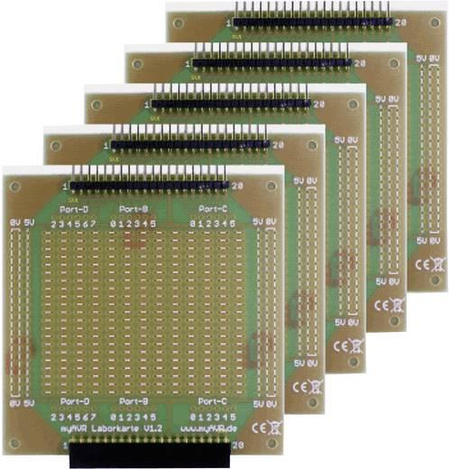 Laborkarten myAVR 5 Rasterleiterplatten