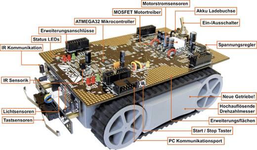 Arexx Roboter Bausatz RP6 V3 Ausführung (Bausatz/Baustein): Fertiggerät