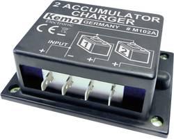 Nabíječka 2 akumulátorů Kemo M102N, 6 - 24 V/DC, 87 x 60 x 33 mm (modul)