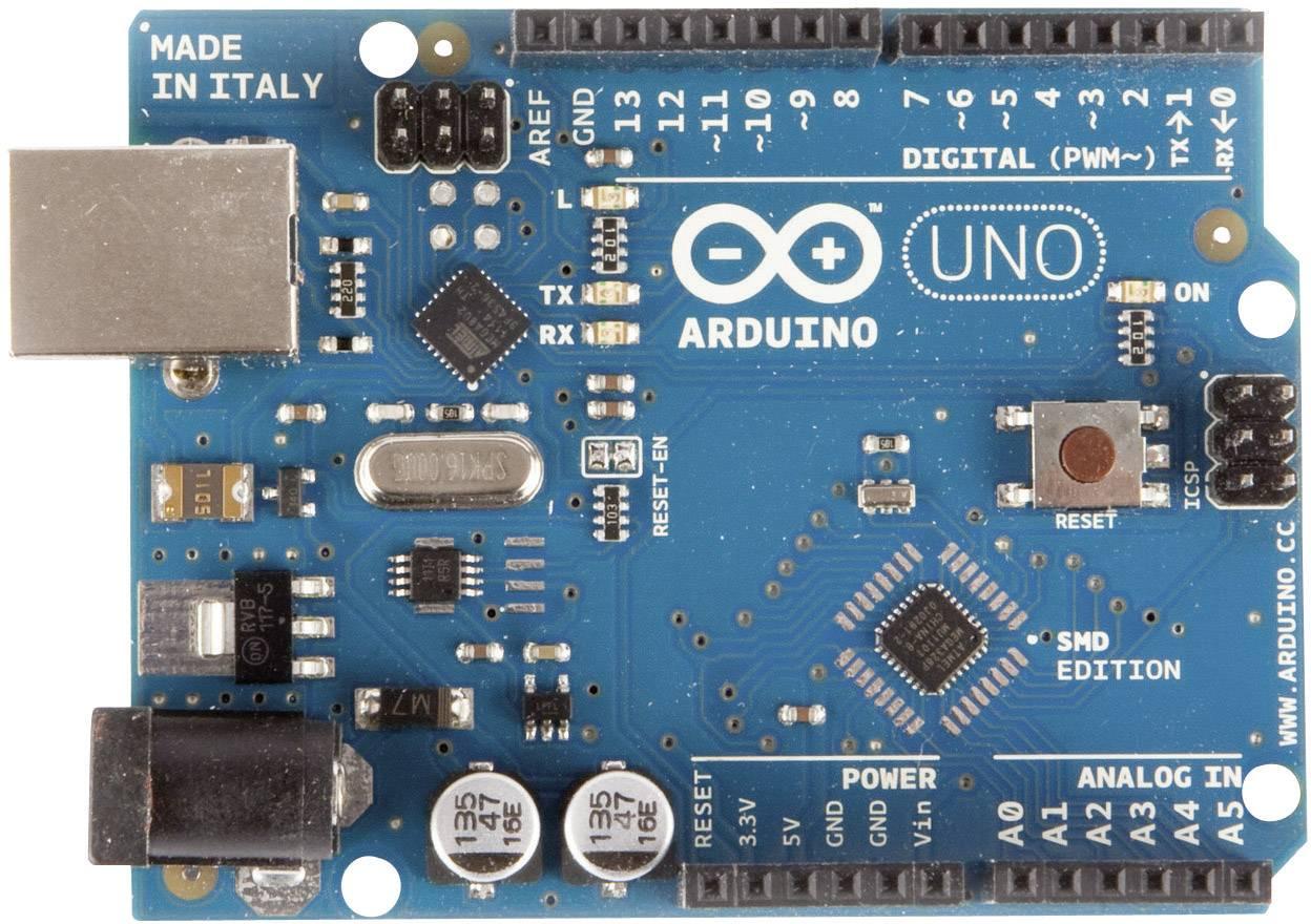 Ultraschall Entfernungsmesser Arduino : Arduino board uno smd atmega