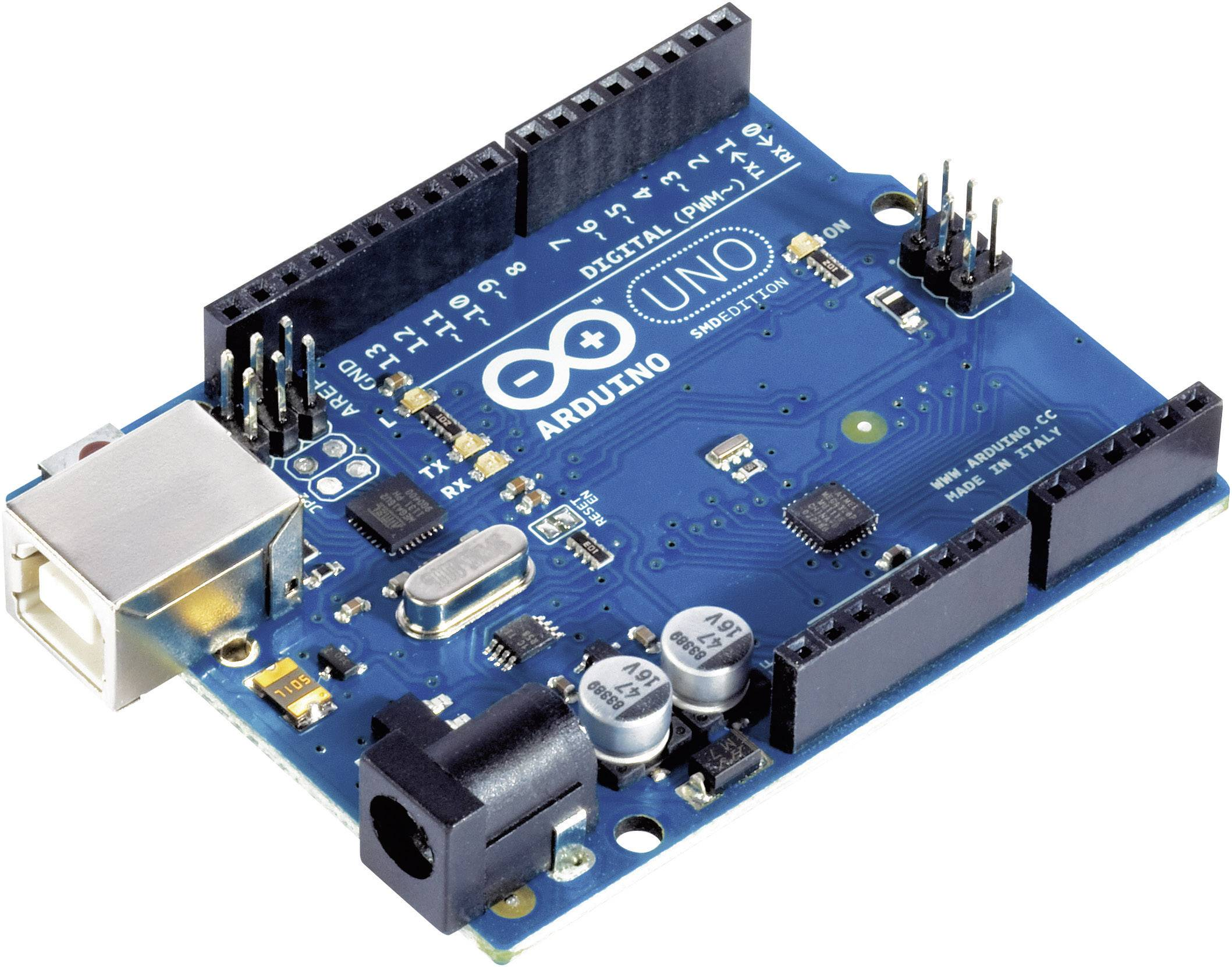 Arduino board uno rev dip version atmega