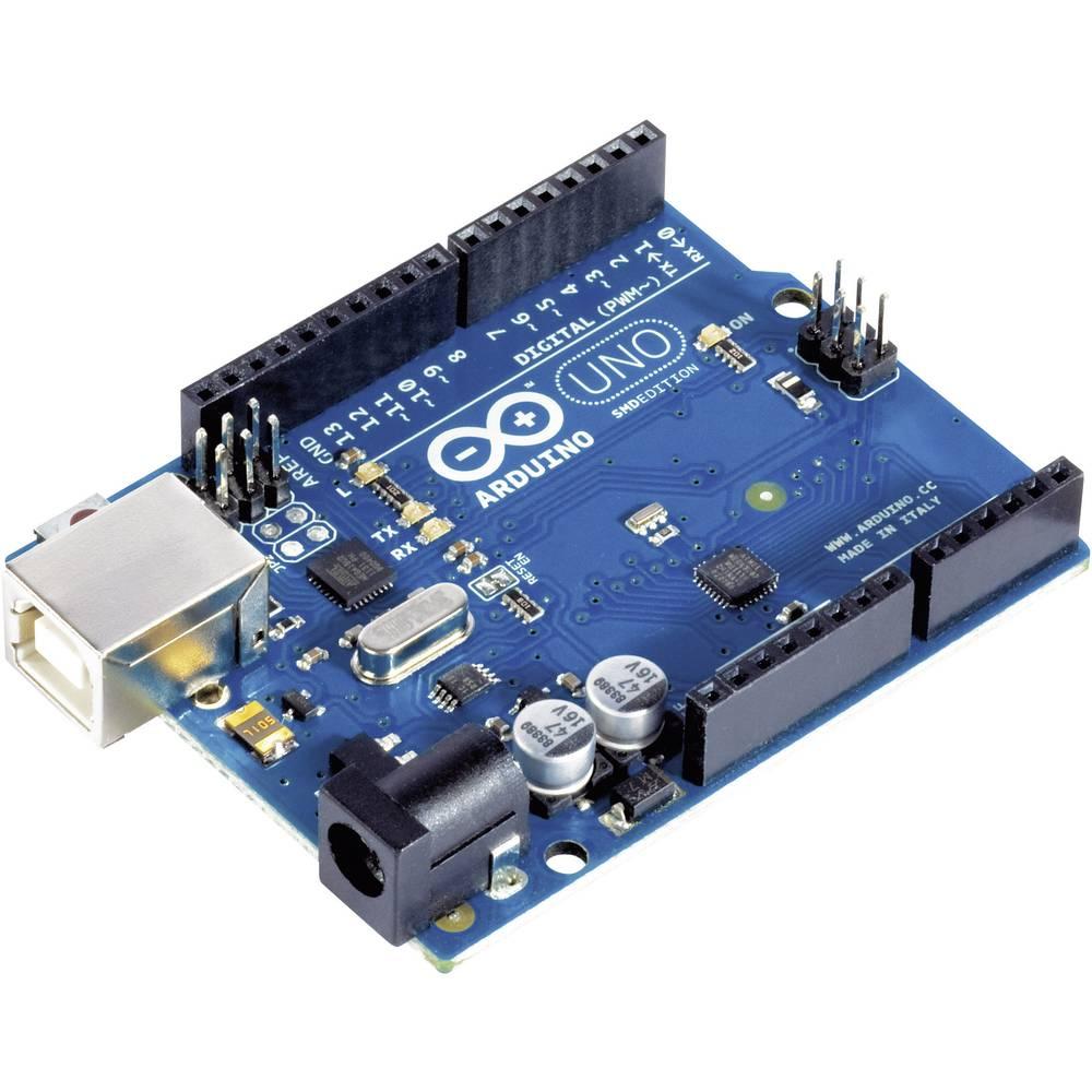Arduino uno microcontroller board from conrad