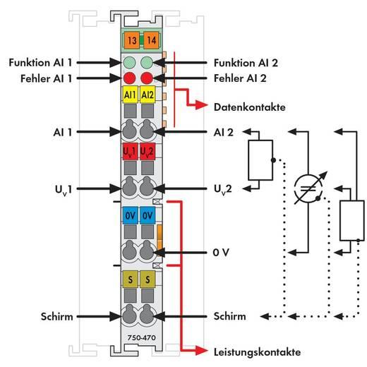 WAGO SPS-Analogeingangsmodul 750-470 1 St.