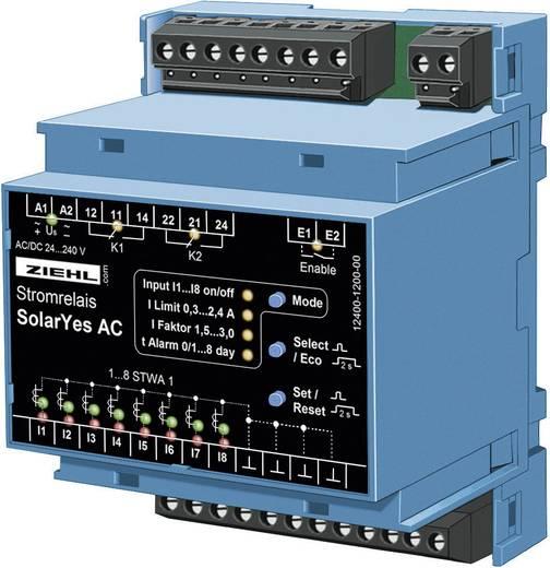 Stromüberwachungsrelais Ziehl FR 1000 Anzahl Relais-Ausgänge: 2 Anzahl analoge Eingänge: 8