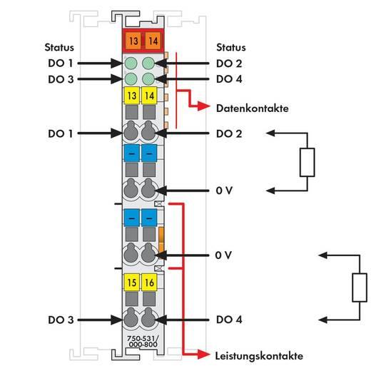 SPS-Ausgangskarte WAGO 750-531/000-800 24 V/DC