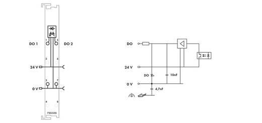 SPS-Ausgangskarte WAGO 750-535 24 V/DC