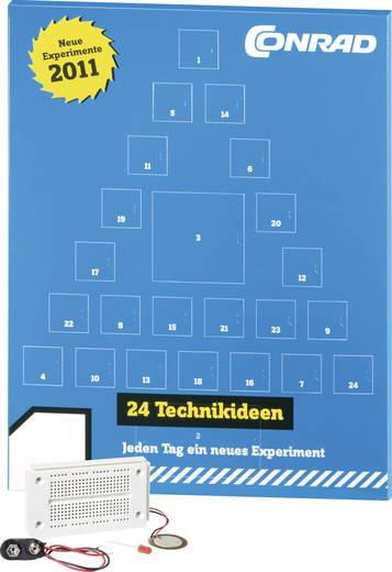 Conrad Elektronik-Adventskalender 2011 - Der ultimative Männer Adventskalender