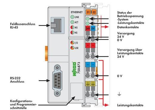 SPS-Busanschluss WAGO 750-873 24 V/DC