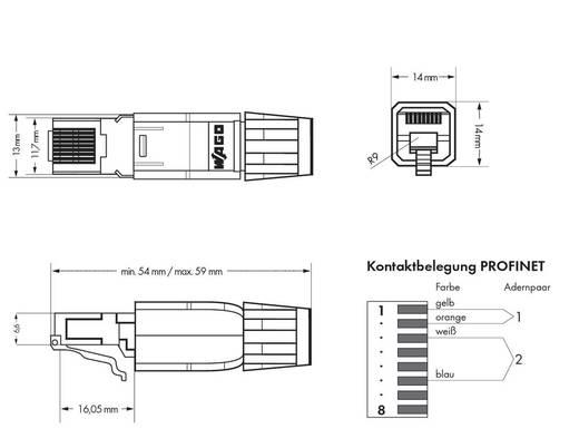 SPS-Steckverbinder WAGO 750-976 PROFINET RJ-45, IP20