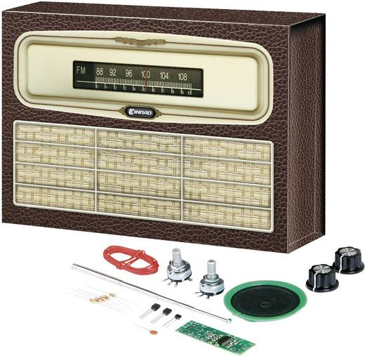 ukw retro radio conrad components ab 14 jahre. Black Bedroom Furniture Sets. Home Design Ideas