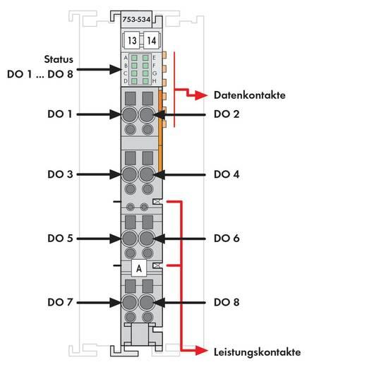 SPS-Ausgangskarte WAGO 753-534 5 V/DC, 14 V/DC