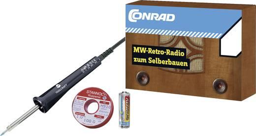 MW Retro-Radio Conrad Components ab 14 Jahre inkl. Lötkolben-Starter-Set