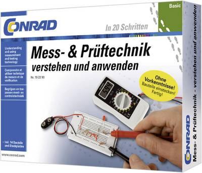 PRODOTTO IN LINGUA TEDESCA Pacchetto di apprendimento Conrad Components Basic Mess- & Prüftechnik 10091 da 14 anni