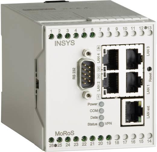 LAN-Router Insys MoRoS LAN 2.1 RJ 45, RS 232 12 V/DC, 24 V/DC, 48 V/DC, 60 V/DC