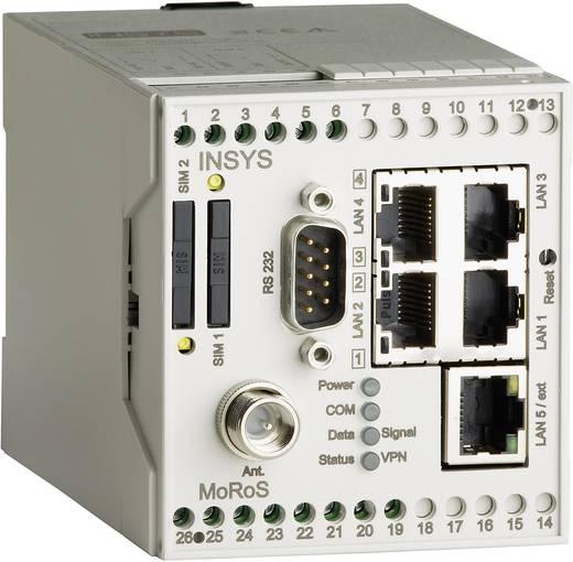 Modem Insys MoRoS HSPA PRO RJ 45, RS 232 12 V/DC, 24 V/DC, 48 V/DC, 60 V/DC