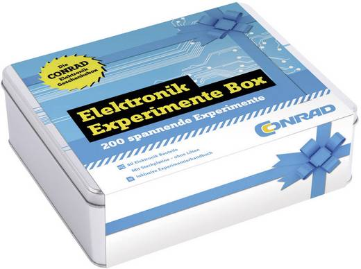 Experimentier-Box Conrad Components Die große Elektronik Experimente Box 10113 ab 14 Jahre