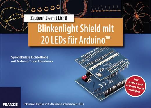 Franzis Verlag Lernpaket Lernpaket Blinkenlight Shield mit 20 LEDs für Arduino 65146 Passend für (Arduino Boards): Ard
