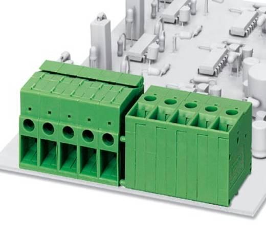 Schraubklemmblock 6.00 mm² Polzahl 1 FRONT 4-H-6,35 Phoenix Contact Grün 50 St.